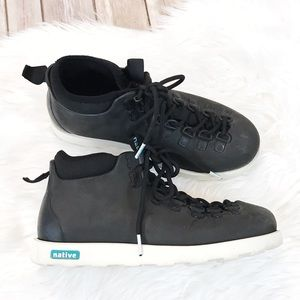 Native Black Eva High Top Sneakers Size 7 Unisex